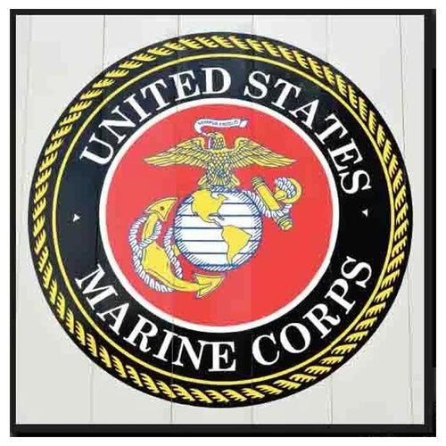 Marine Corps Canvas Print Wall Decor
