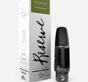 Reserve Alto Saxophone Mouthpiece Medium Facing 中音薩克斯風吹嘴 - 中號面部
