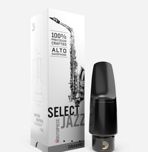 Select Jazz Alto Saxophone Mouthpiece Medium Chamber 中音薩克斯風吹嘴 - 中號腔室