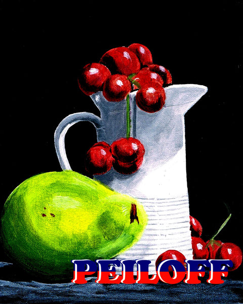 Cherries and Pear
