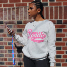 Load image into Gallery viewer, BADDIE CLASSIC LOGO CREW NECK