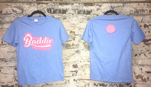 Load image into Gallery viewer, Baddie Logo Tee (Baddie Blue)