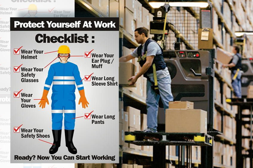 Personal equipment to Protect yourself at Work