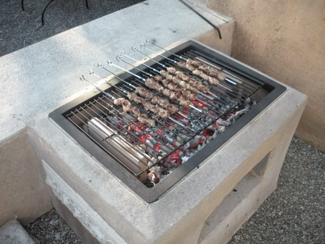 Safety for BBQ grill