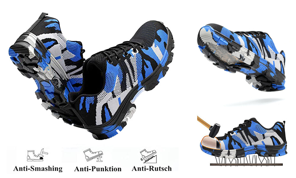 Cool Military camouflage safety shoes description 4
