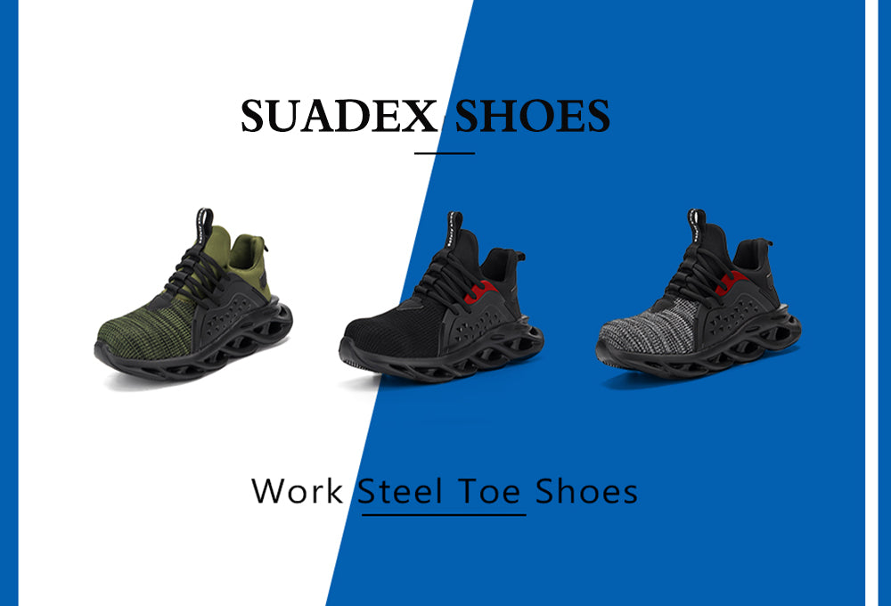 Suadex Show-off Cool Safety Shoes Work Shoes|Dense Mesh Details (1)