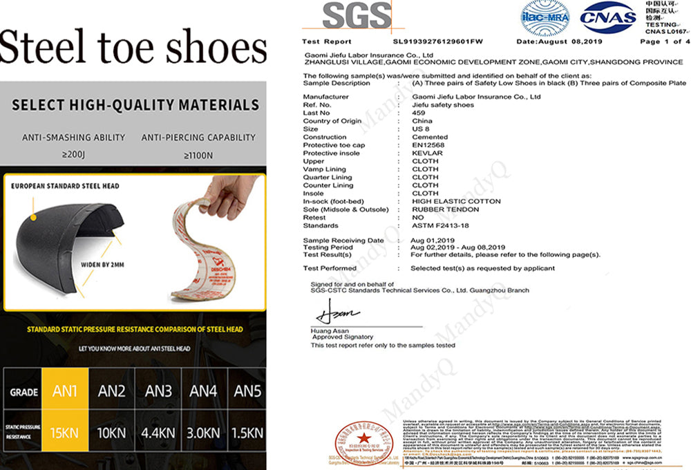 Suadex Show-off Cool Safety Shoes Work Shoes|Dense Mesh Details (4)