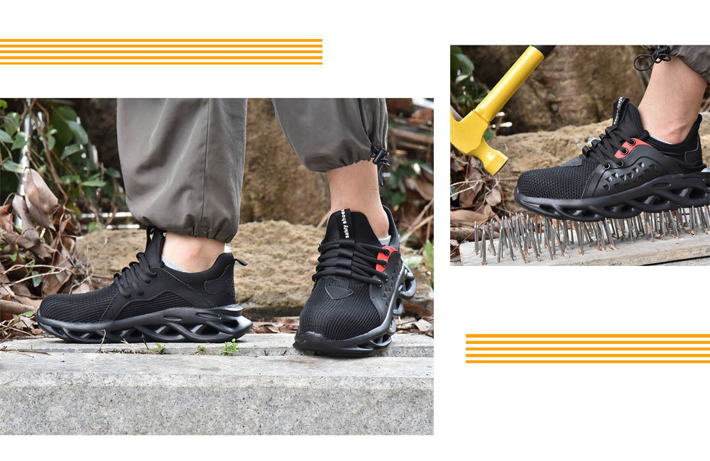 Suadex Show-off Cool Safety Shoes Work Shoes|Dense Mesh Details (7)