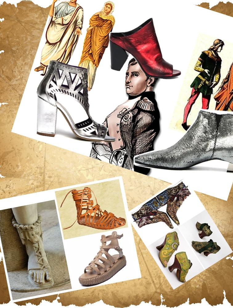 the history of shoes