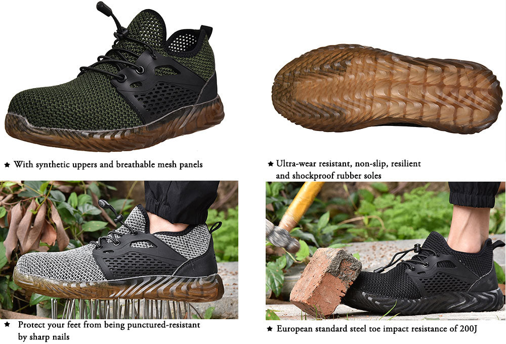 lightweight shoes safety shoes For Men Women