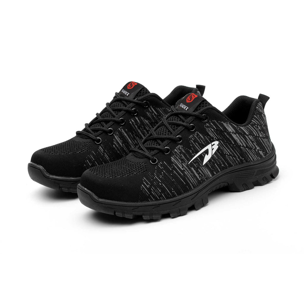 Suadex Outdoor Casual Shoes Athletic Work Shoes black