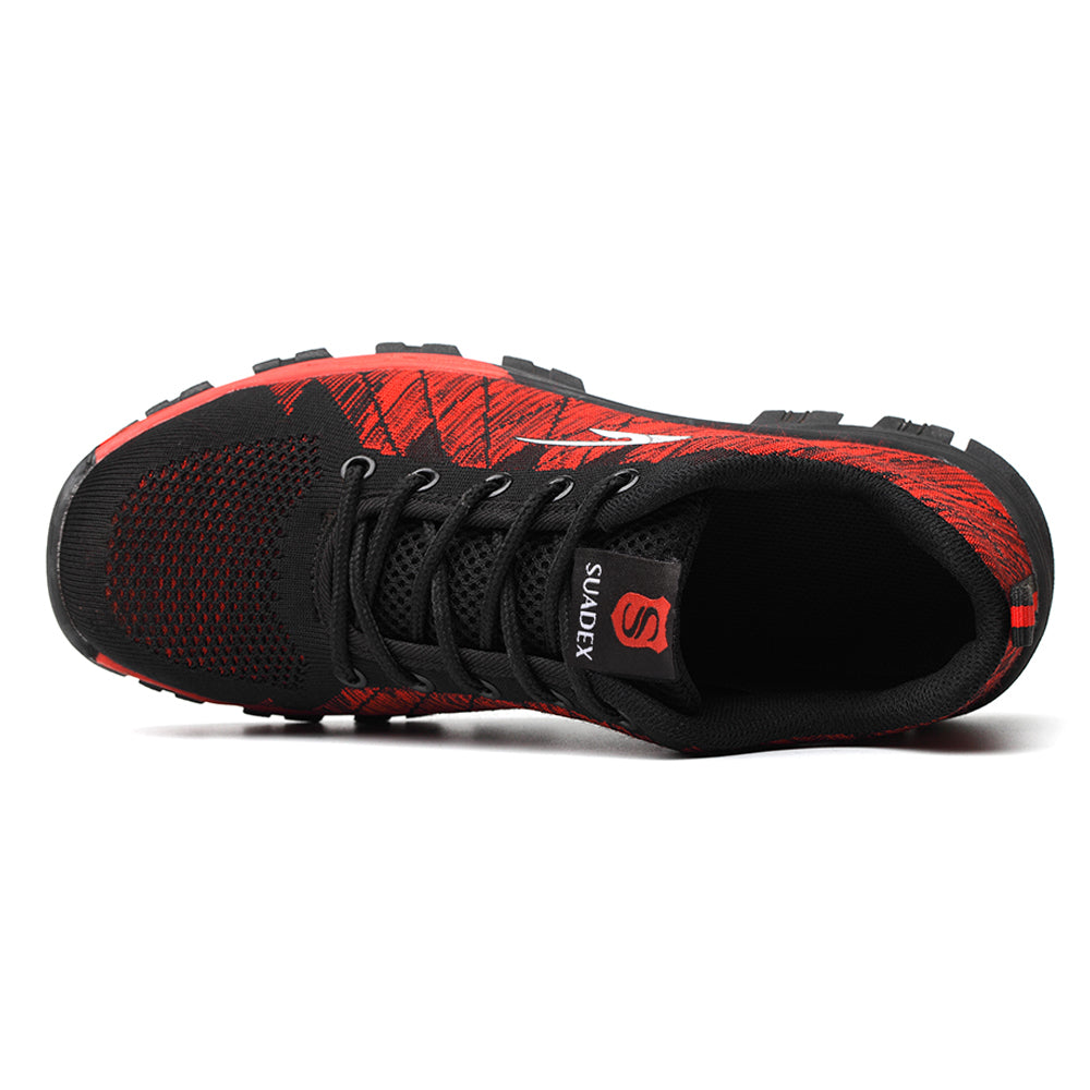 Suadex Outdoor Casual Shoes Athletic Work Shoes red