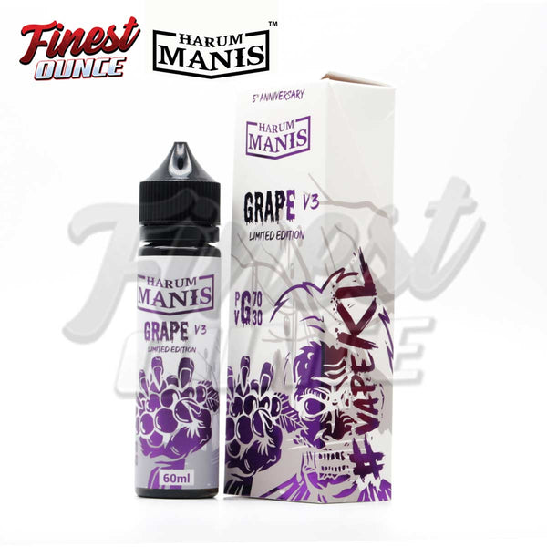 Harum Manis - Grape V3 (FREEBASE) 60mL