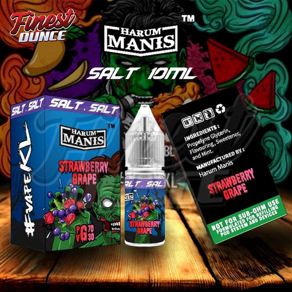 Harum Manis - Strawberry Grape (SALT) 10mL - Finest Ounce Vape Store