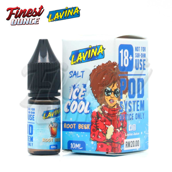 Lavina - ICE COOL Rootbeer (SALT) 10mL