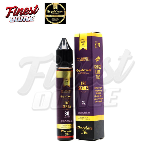 Royal Cream - Chocolate Tobacco 30mL (FB-HTPC) - Finest Ounce Vape Store
