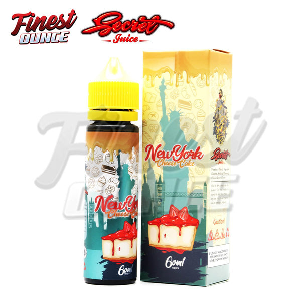 New York - Cheese Cake (FREEBASE) 60mL - Finest Ounce Vape Store