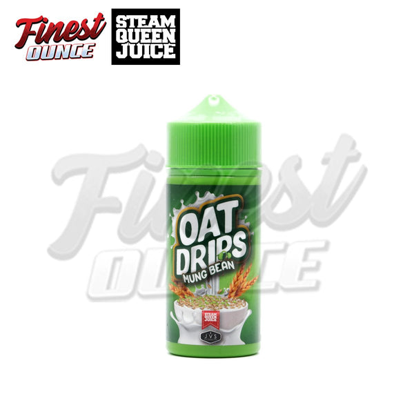 Steam Queen Juice - Oat Drips Mung Bean (FREEBASE) 100mL - Finest Ounce Vape Store