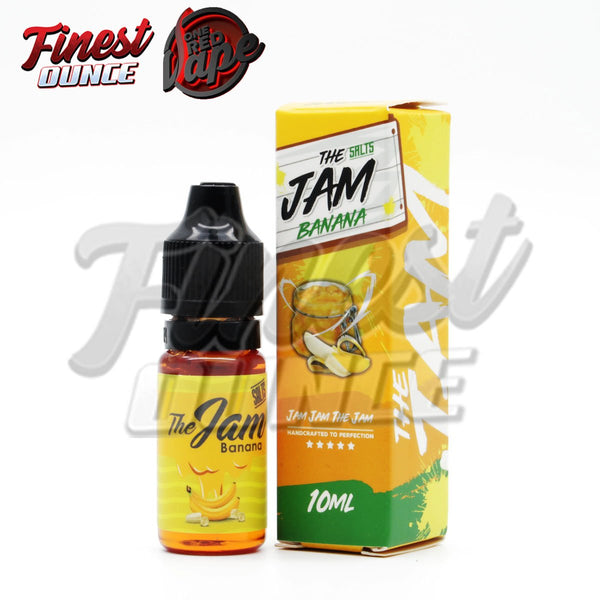 The Jam - Banana by One Red Vape (SALT) 10mL - Finest Ounce Vape Store