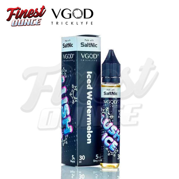 VGOD - SaltNic Lush Ice Nicotine Salt 30mL (e-liquid e-juice) **ORIGINAL - Finest Ounce Vape Store
