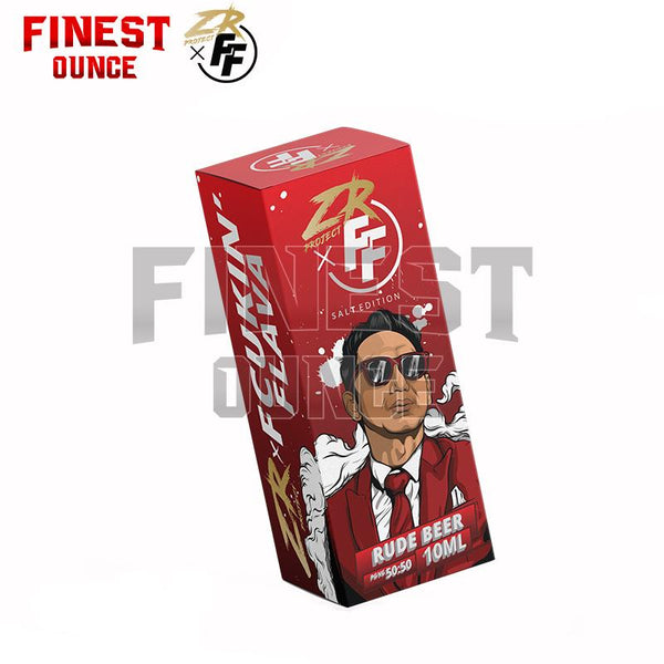 ZR Project X - Fcukin Flava (FF) Rude Beer Nic Salt 10mL Vape Zizan e-liquid e-juice - Finest Ounce Vape Store