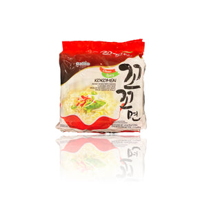 Paldo Kokomen Korean Instant Noodle with Chicken Flavored Clean Spicy Soup (5PK)