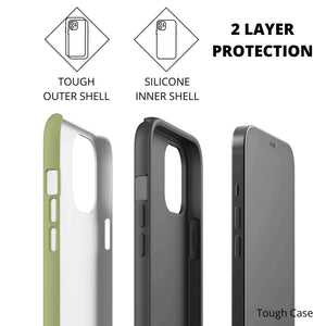 Camouflage Phone Case, Tough Case, Inner and Outer Shell, iPhone, Samsung, Google Pixel