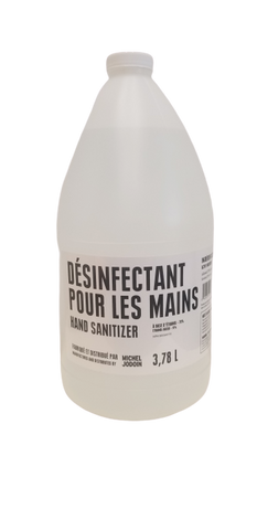Désinfectant à mains 3,78L