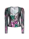 MALINA silk lurex shirt