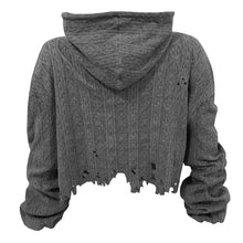 Load image into Gallery viewer, Distressed Knit Sweater - Pipikini