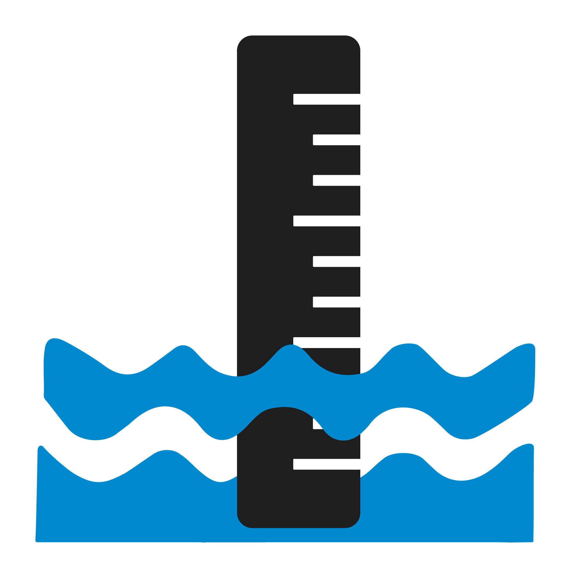 Measure water level icon