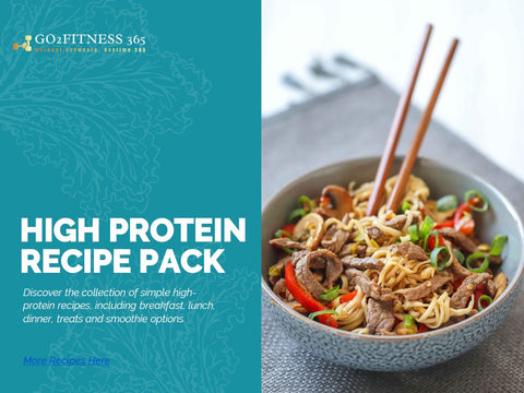 High Protein Recipe and Meal Plan Pack