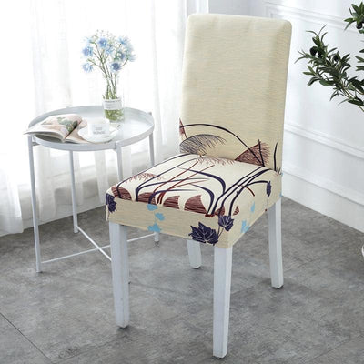 Autumn New Stretch Print Chair Cover - Pretty Little Sofa Covers.com