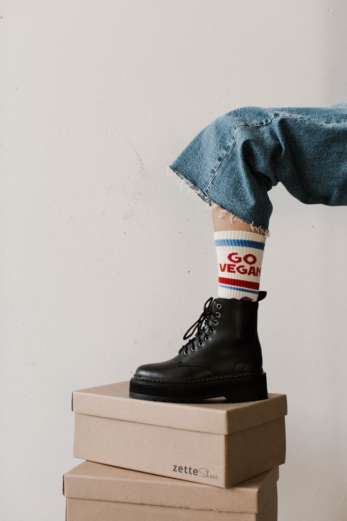 vegan dr marten style boots ethically made