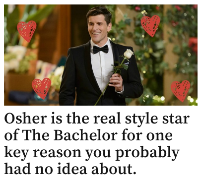 Osher Wears Vegan Shoes On The Bachelor