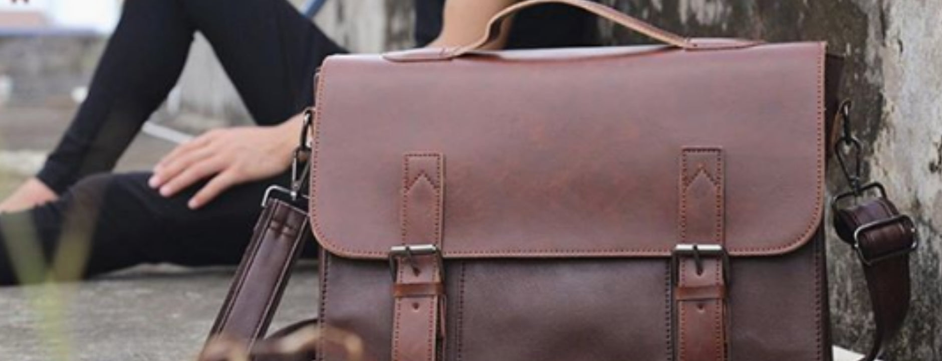 Mens vegan briefcases, crossbody and messenger bags from Tokyo Bags.