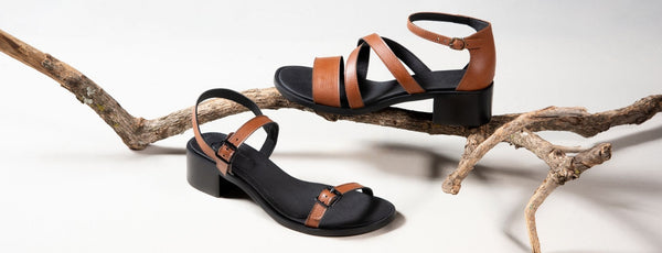 sustainable shoes vegan leather and natural rubber soles