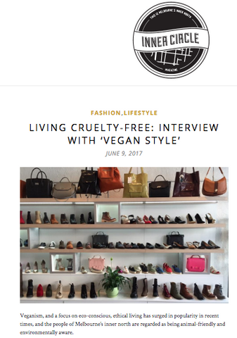 Vegan Style Interview on Cruelty Free Lifestyle With Inner Circle Magazine