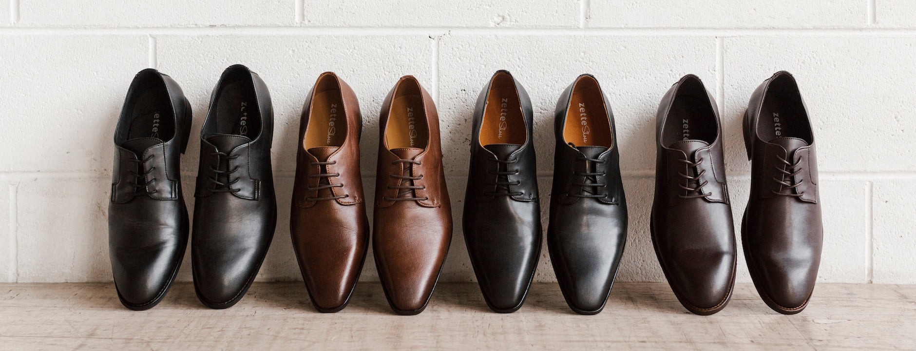 Shop men's vegan formal shoes in Australia. Non-leather work shoes for men.
