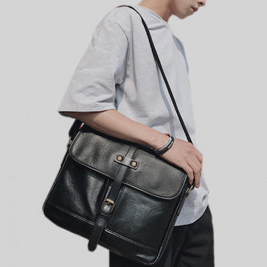 Vegan bags for men and vegan leather briefcases