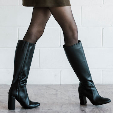 Womens vegan boots that are ethically sourced. Shop women's vegan ankle boots, vegan lace-up boots and vegan knee high boots.
