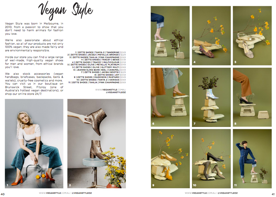 ethical vegan and sustainable gift guide - womens shoes