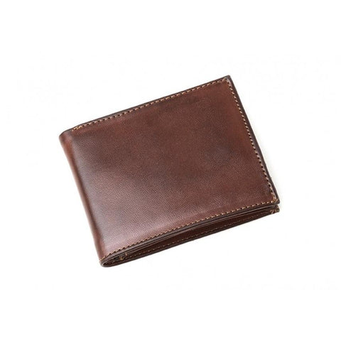Zipped wallet in Cognac Microfibre by Ahimsa
