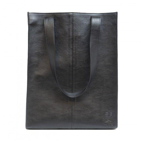 'Noemi' tote bag with small pocket from NAE - black - Vegan Style