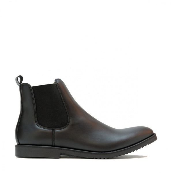 'Mesa' men's vegan chelsea boot by NAE - black - Vegan Style