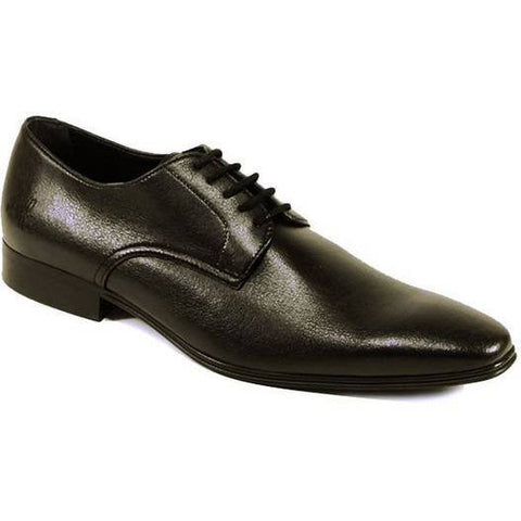Will's London - vegan slim-sole smart shoes - oxfords - (black)