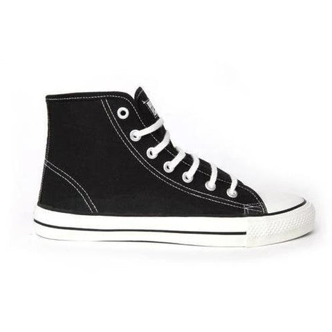 Hi-Tops (Black/White) by Etiko - Vegan Style