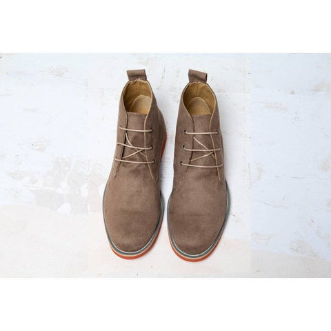 Good Guys 'Ayita' vegan leather desert boot - beige