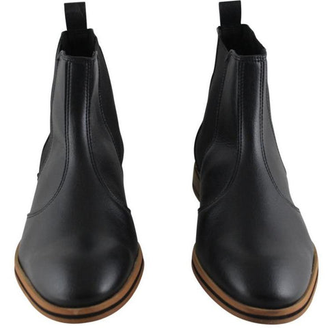 FAIR shoes - vegan Chelsea boot - black
