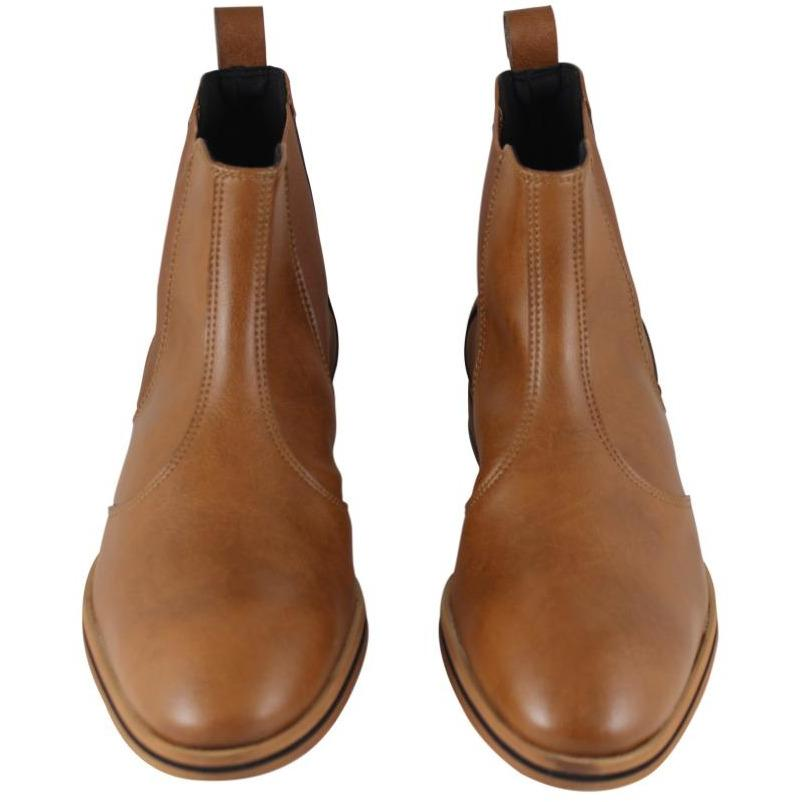 FAIR shoes - vegan Chelsea boot - tan